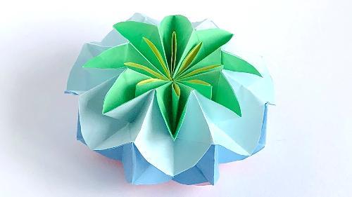 作り方 の 折り紙 万華鏡 折り紙の花火 8枚で簡単♪くるくる動く万華鏡みたい!折り方作り方を紹介│子供と楽しむ折り紙・工作