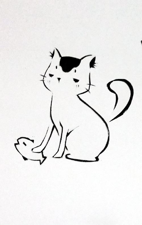 写真をクリックすると拡大できます. Copyright ©. 猫の切り絵 ...