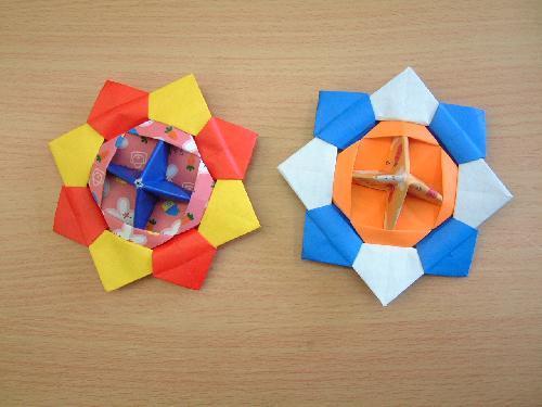 ハート 折り紙 コマの作り方 折り紙 : divulgando.net