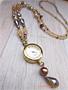 時計のネックレス